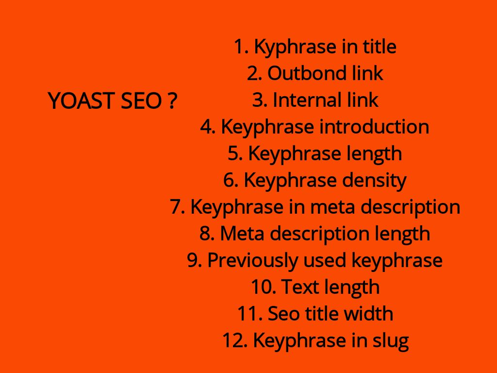 Cara menulis artikel dengan yoast seo keyphrase